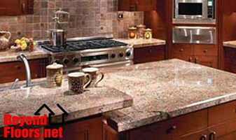 Granite is a great choice for your countertops.